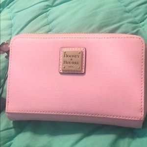 New with tags Dooney and Bourke light pink wallet